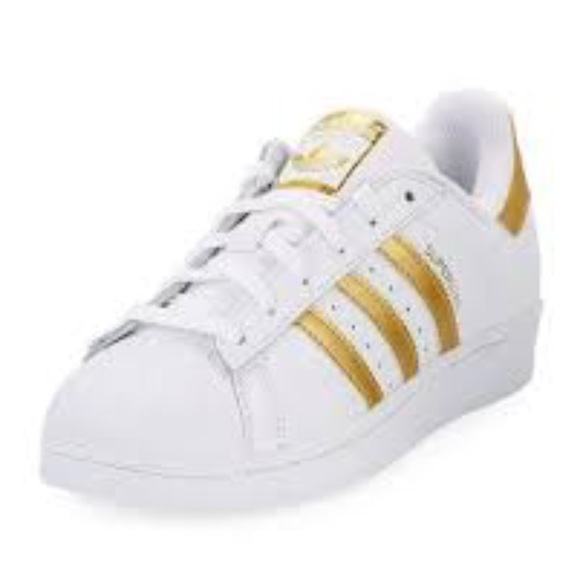 gold adidas shoes